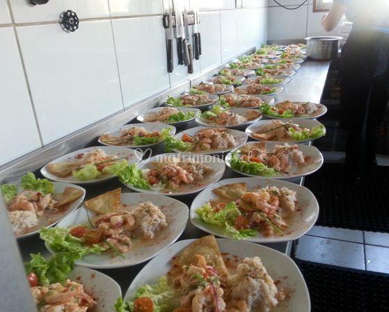 Presentación de los platos