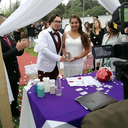 Matrimonio de Paulina y Diego