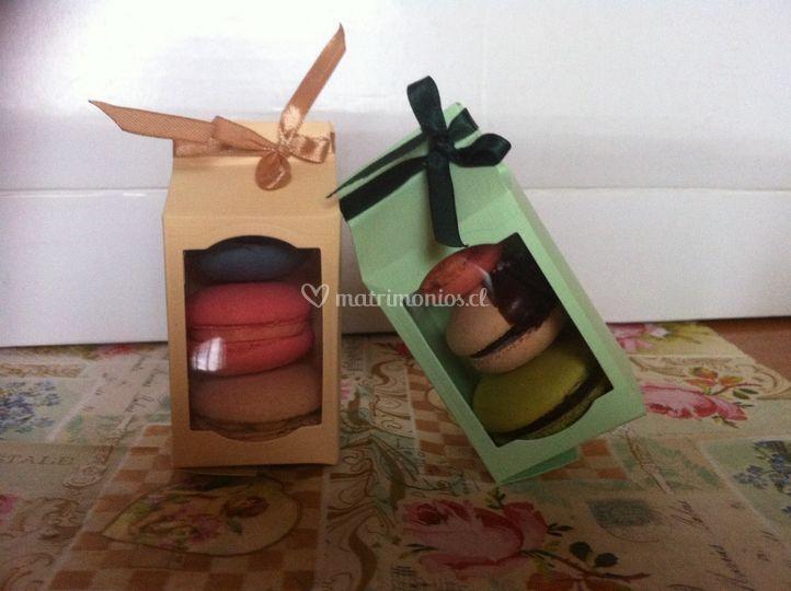 Macarons sabores a elección