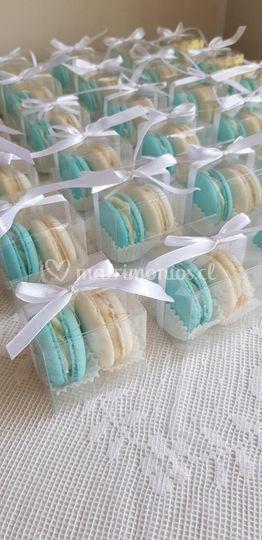 Macarons para candy bar o mesa