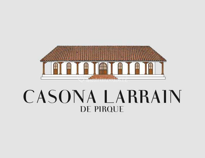Logo Casona Larrain.