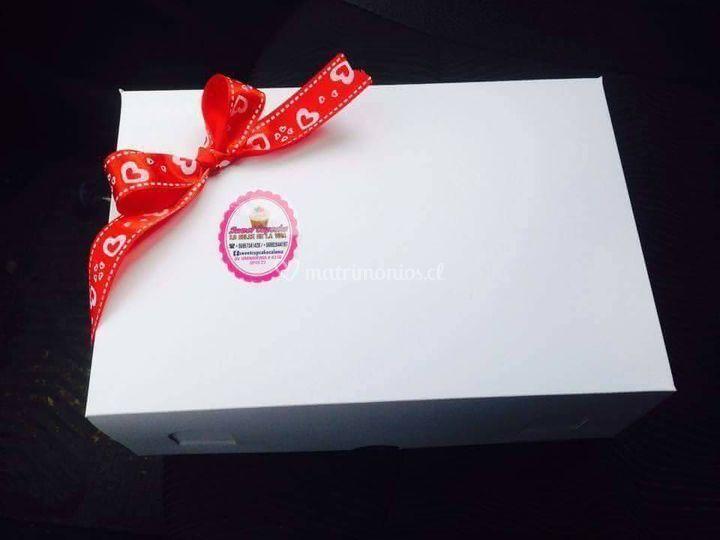 Caja Regalo Cupcake