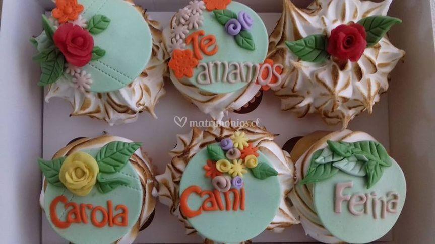 Cupcakes femeninos