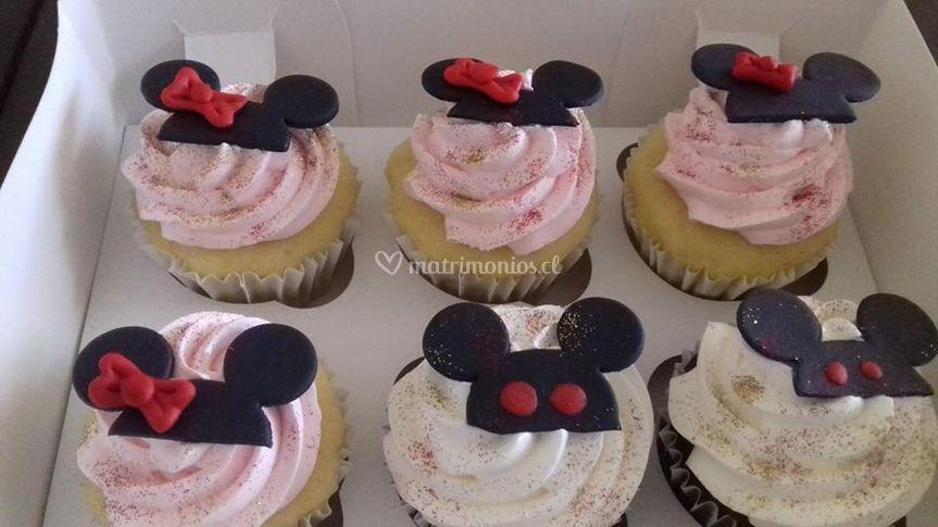 Cupcakes temáticos para niños