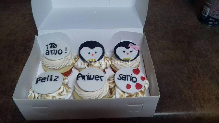 Cupcakes para celebrar