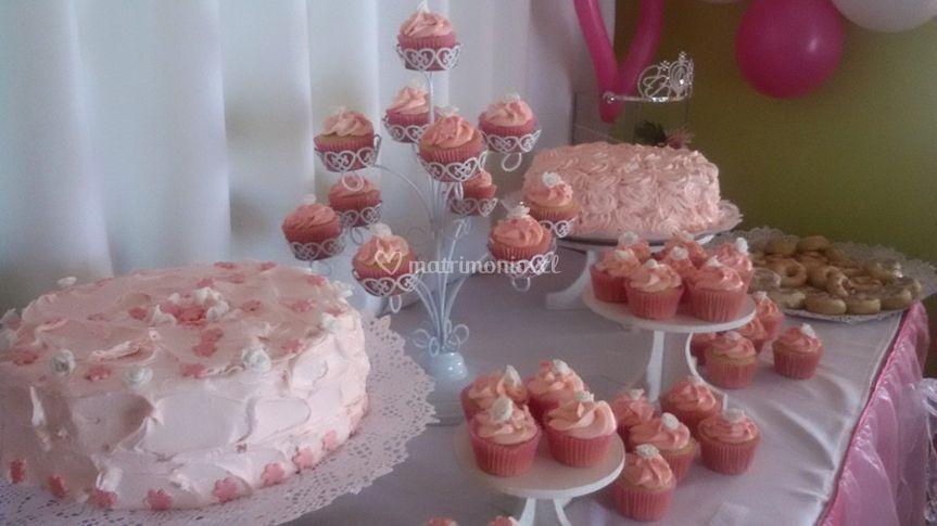 Mesa de dulces de Sweet Cupcake
