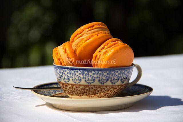 Macarons mandarina