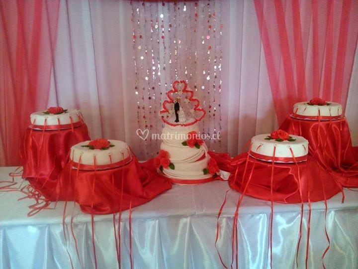 Mesa para las tortas
