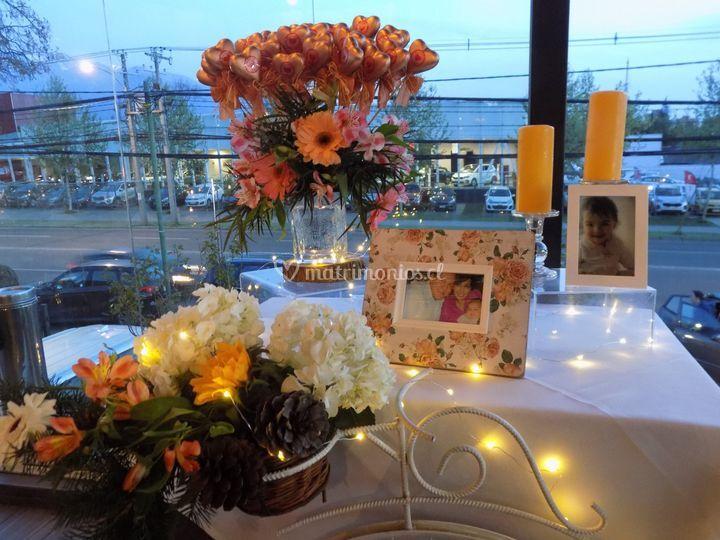 Flores y fotos