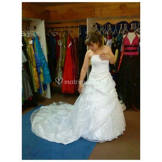 Vestidos de novia princesita temuco