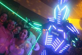 Escarabajo Eventos - Robot LED