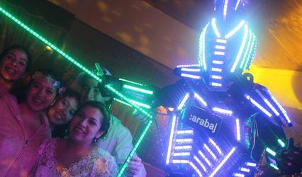 Escarabajo Eventos - Robot LED