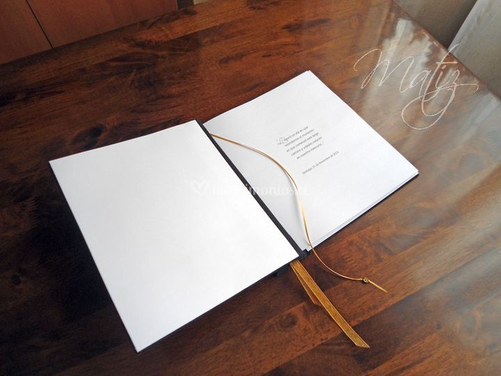 Libro 60 hojas blancas