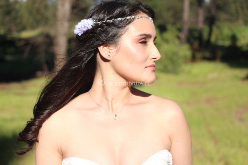 Novia de Anita Costa Make Up & Hair