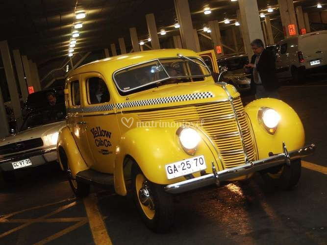 Ford Standard 1938, taxi