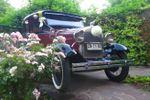 Ford A 1929 burdeo negro