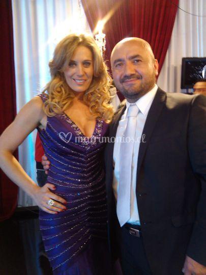 Exageraldo con Rocio Marengo