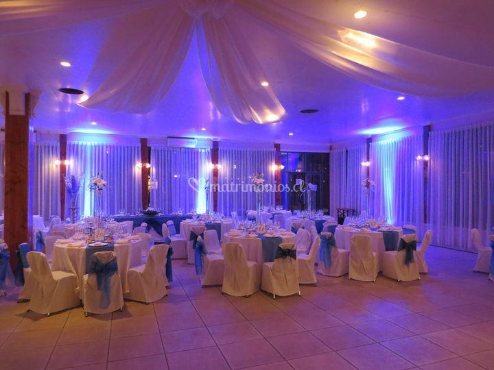 Matrimonio azul