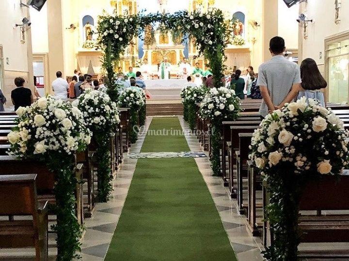 Decoracion altar