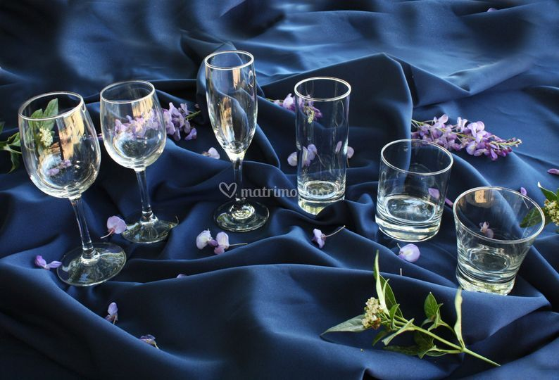 Cristalería y vasos