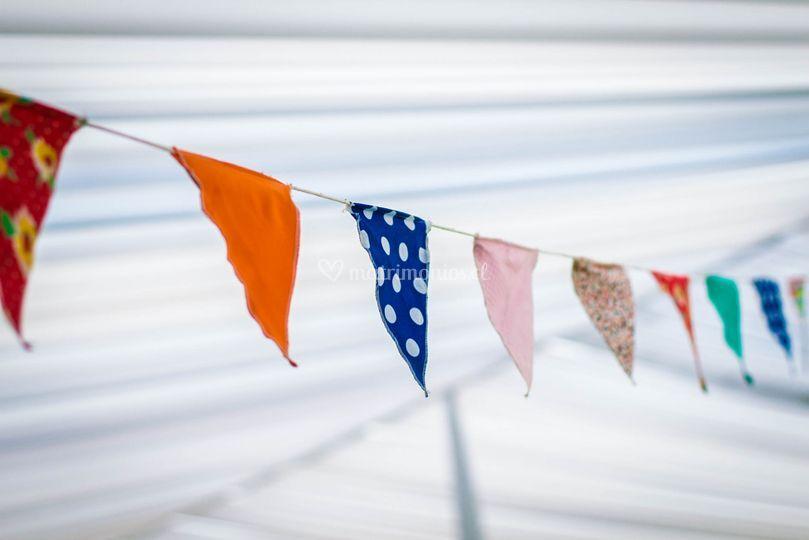 Banderines para ambientar