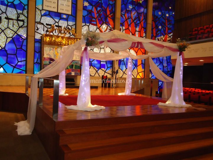 Jupás/pérgolas para ceremonias