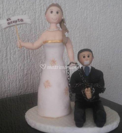 Creaciones María Paz - Cake topper