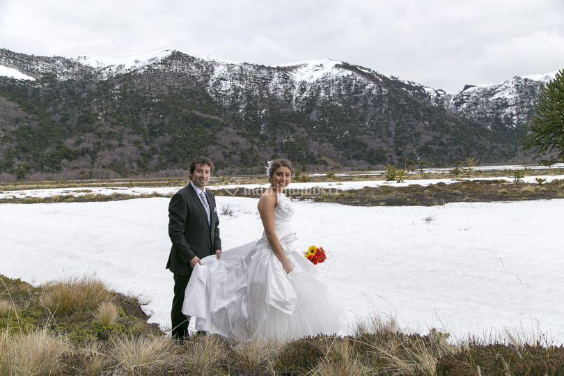 Hermoso paisaje para matrimonio