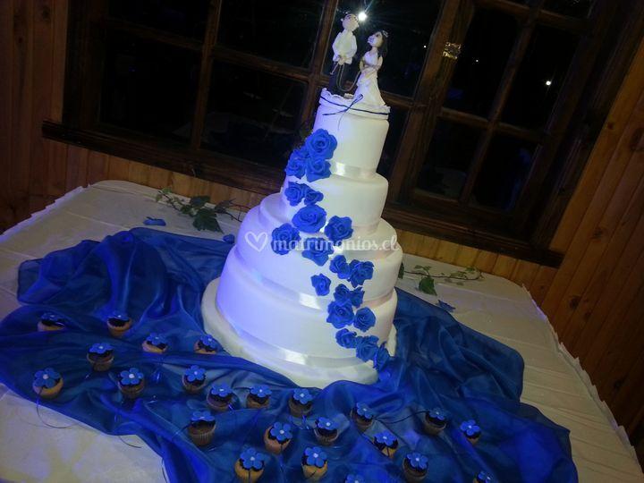 Torta de 4 pisos