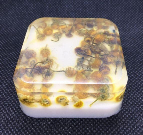 Jabón artesanal manzanilla