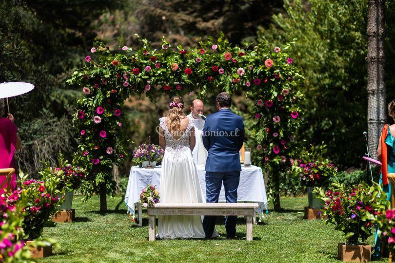 Matrimonio con colores