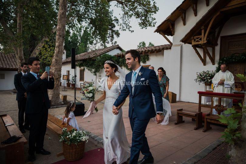 Novios casados