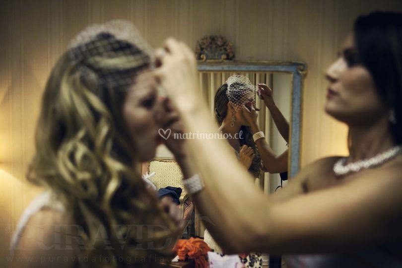 Preparaciones de la novia