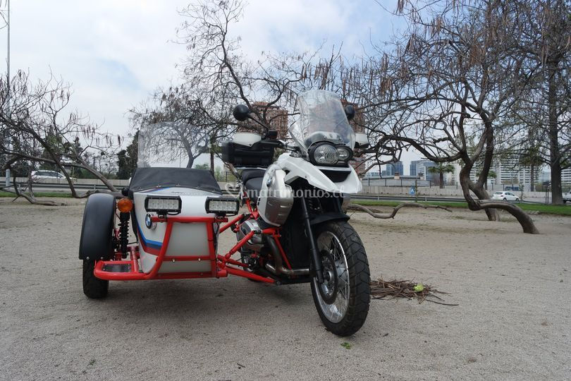R1200GS Rallye con Sidecar