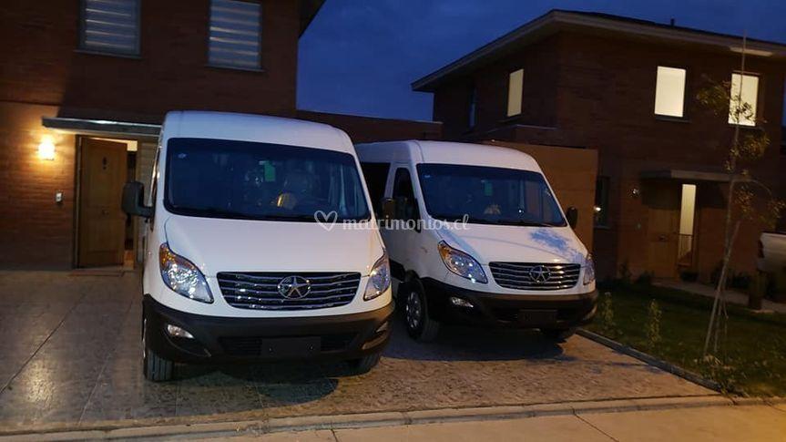 Transporte de invitados