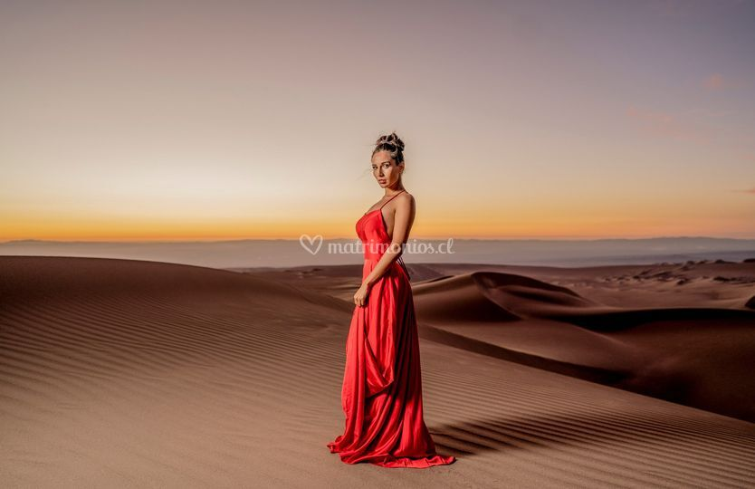 Vestido rojo para madrina