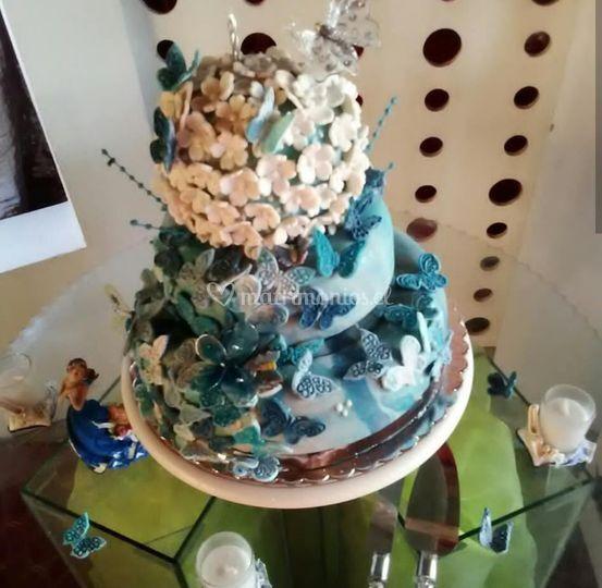 Torta boda pisos