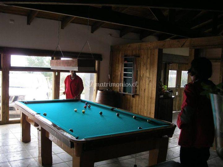 Salón de pool