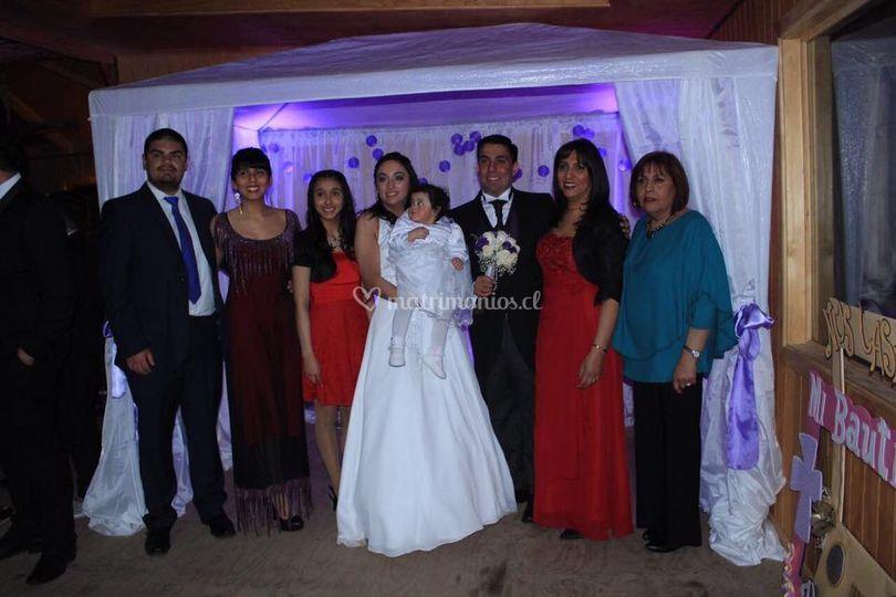 Matrimonio ravena & vidal y b