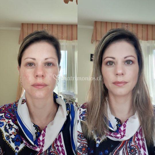 Maquillaje tarde