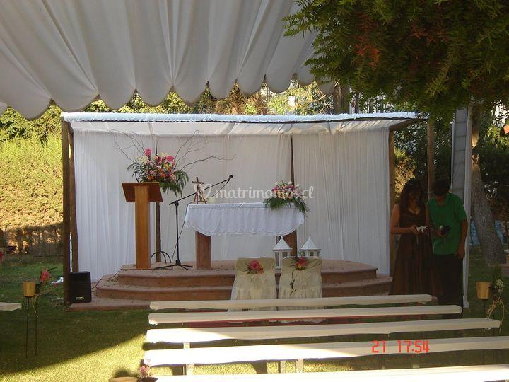 Listo para la ceremonia