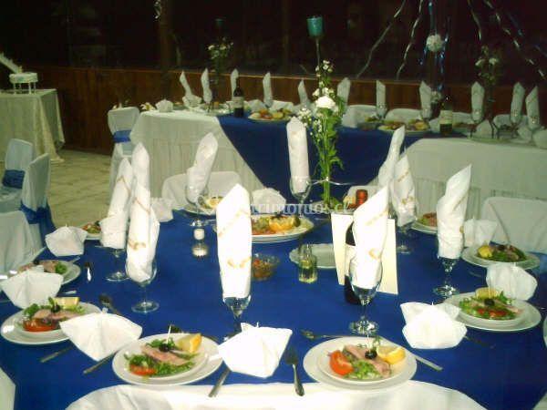 Banquetería de matrimonio