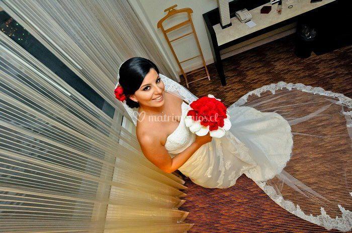 Precio peinado novia a domicilio