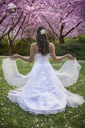 Traje de novia pedrería