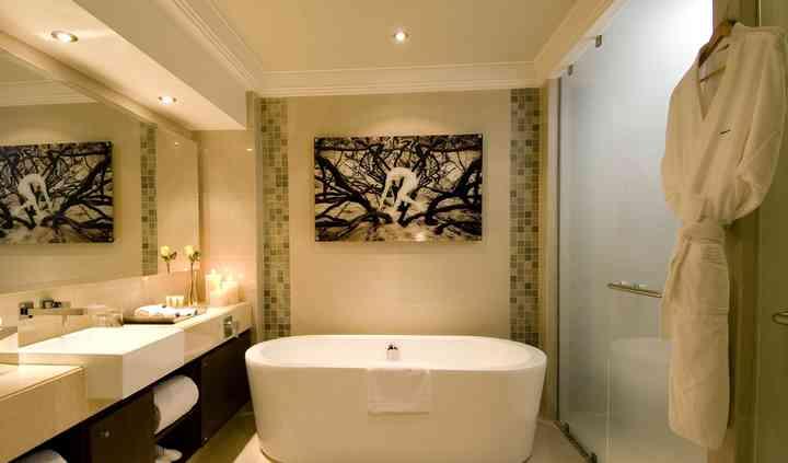Baño habitación hotel