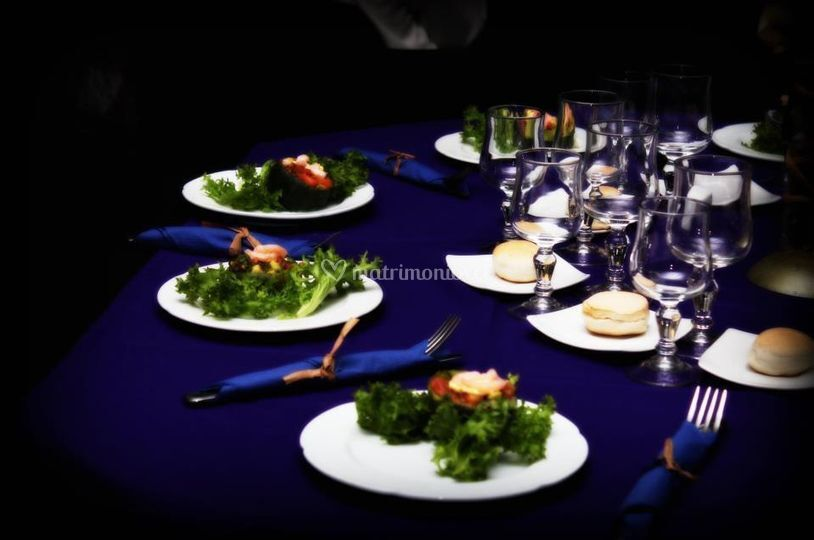 Banquetería para matrimonios