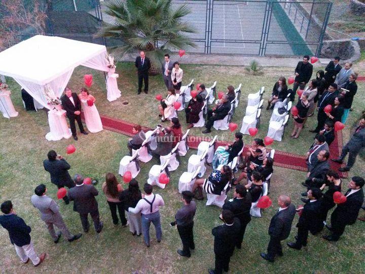 Amplificación ceremonia civil
