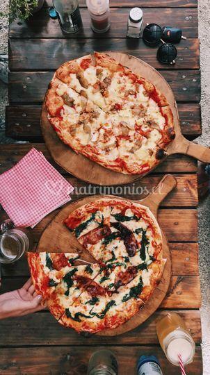Nuestras pizzas
