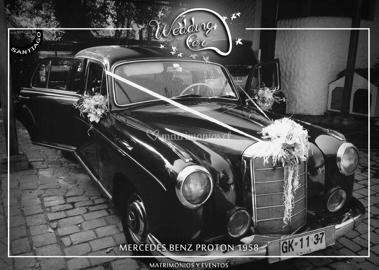 Mercedes Benz Proton 1958