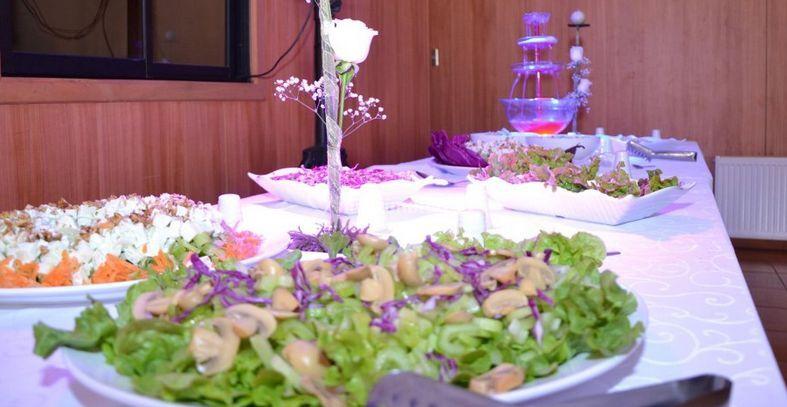 Impecable presentación de los platos